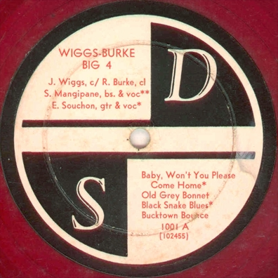 Wiggs-Burke Big 4 on S D 1001 A