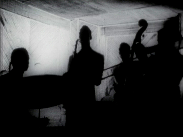 Quartet in silhouette