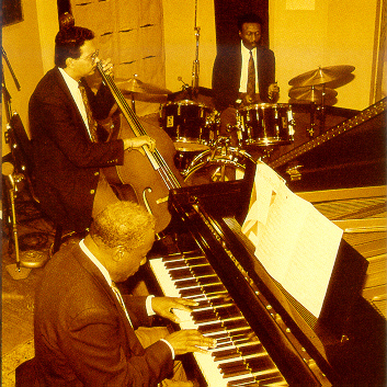 King Fleming's trio in 1995