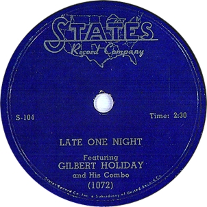 Gilbert Holiday,