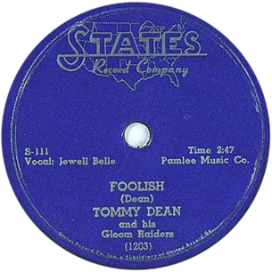 Tommy Dean,