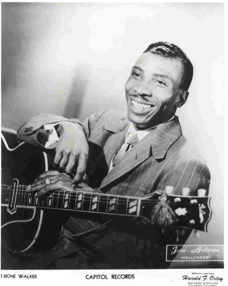 T-Bone Walker in his Capitol days