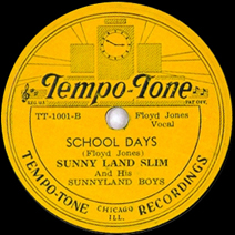Floyd Jones on Tempo-Tone 1001