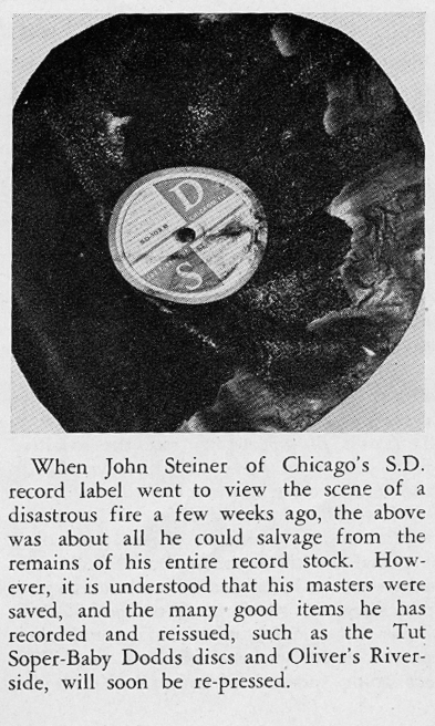 Steiner article, The Jazz Record, June 1946, p. 11