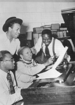 Wynonie Harris et al. in the King Studios