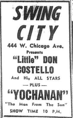 Yochanan at Swing City, November 19,  1960