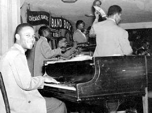 John Young at the Band Box in 1946